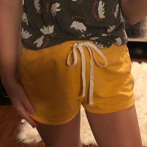 Old Navy Yellow Shorts